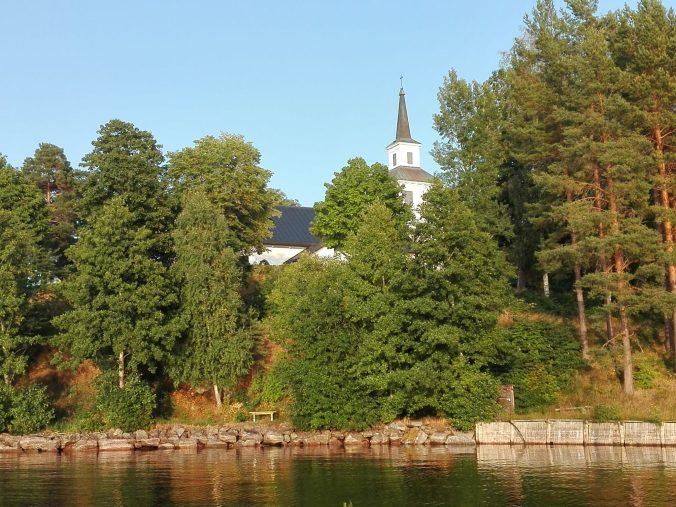 Blåviks kyrka från Boxholm II