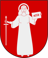 Skövde vapen: Av Haquino, Lokal_Profil, Ollemarkeagle, ChristianBier, Yorick and Care, CC BY-SA 2.5, https://commons.wikimedia.org/w/index.php?curid=7859570