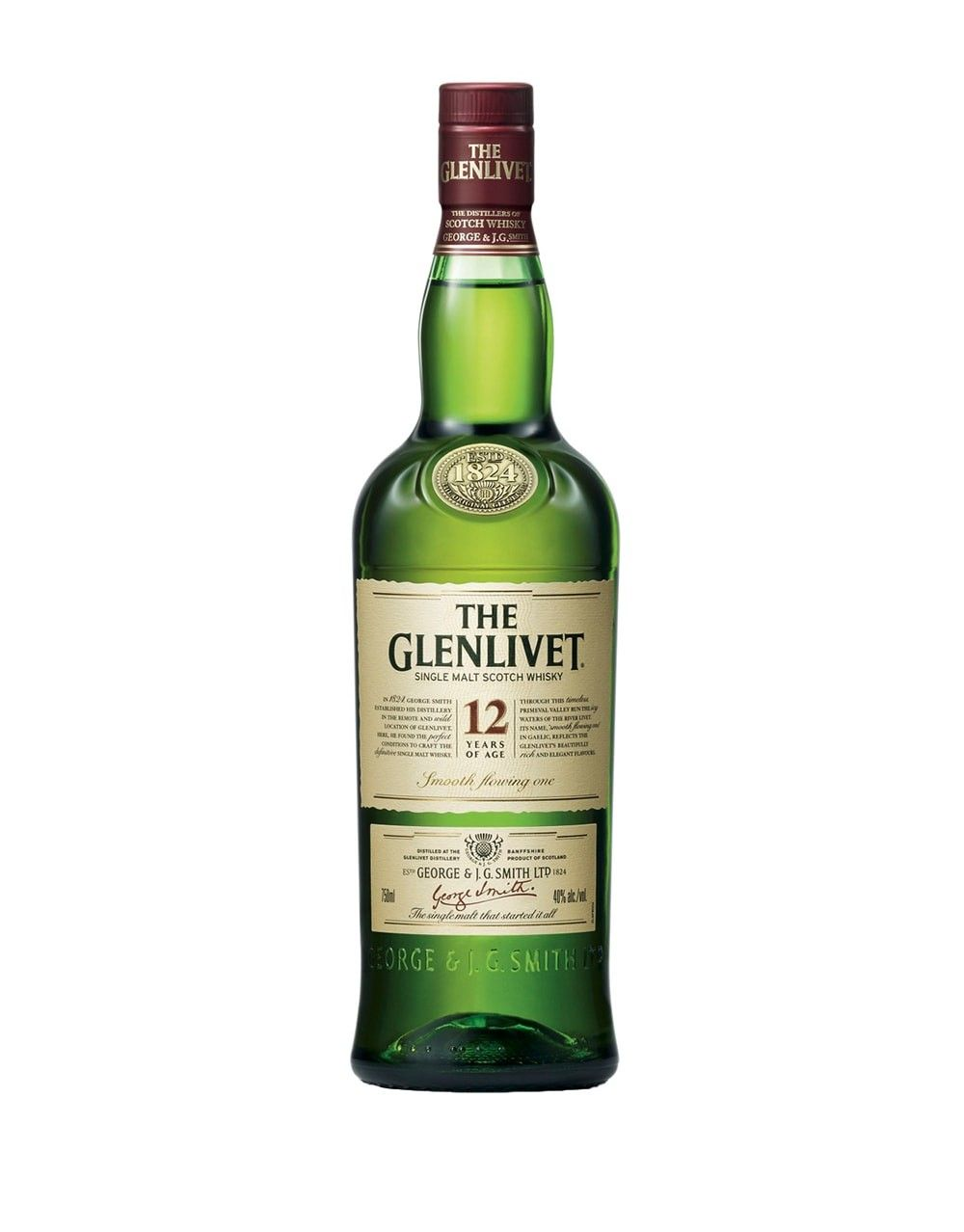The Glenlivet 12 Year Old Scotch Whisky Buy Online Or