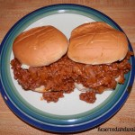 Tasty Tuesday - Sloppy Joes