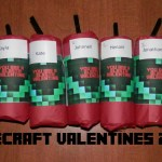 Happy Valentines Minecraft Style