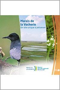 Plaquette de présentation. Documents à télécharger - Réserve naturelle régionale Marais de la Vacherie