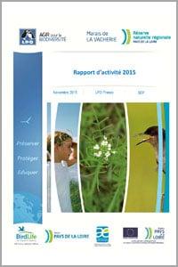 Rapport d'activités 2015. Documents à télécharger - Réserve naturelle régionale Marais de la Vacherie