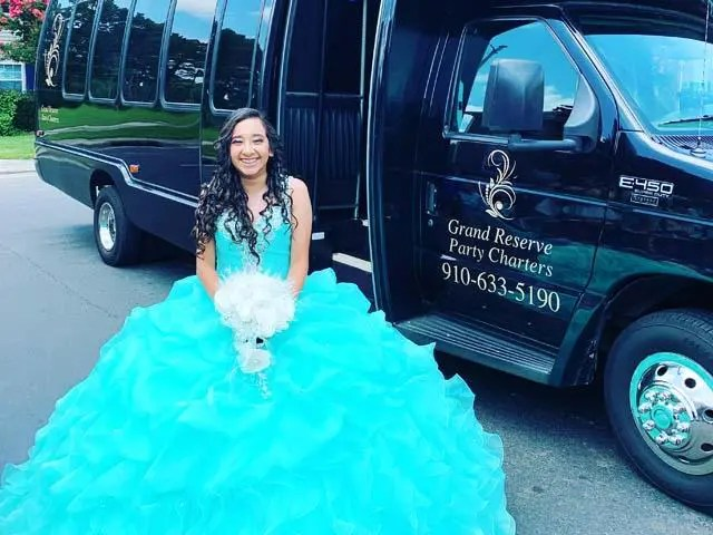 Quinceanera Party Bus Hope Mills NC