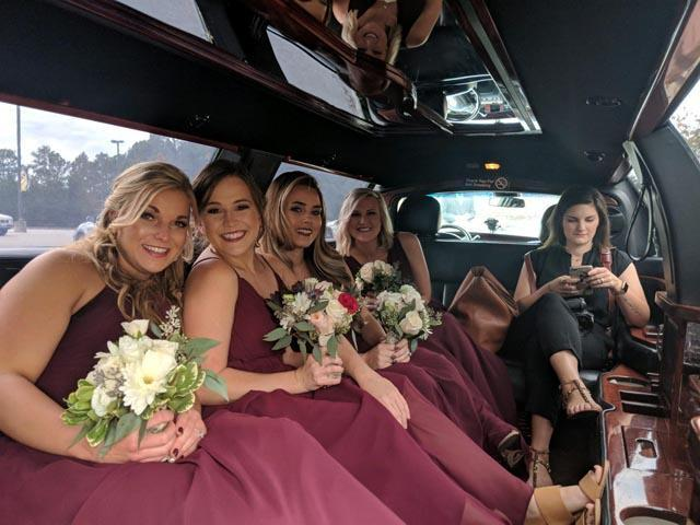Florence SC Wedding Limo