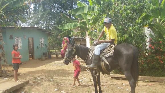Man on horse 2