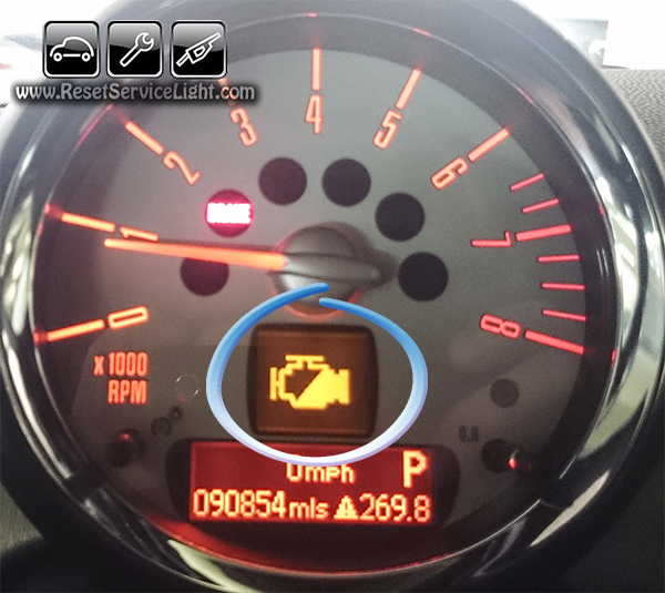 Bmw Dashboard Light Meanings >> reset check engine light mini cooper | Decoratingspecial.com