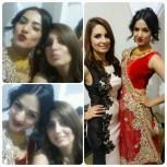 Makeup & Hair for Bollywood diva Sonal Chauhan