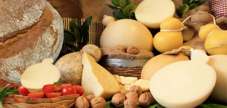 Cheeses Apulian Gargano