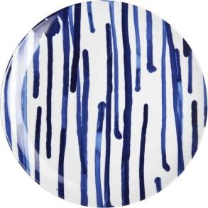 KEIU 9,50€ Assiette plate en porcelaine D.27 cm 801681