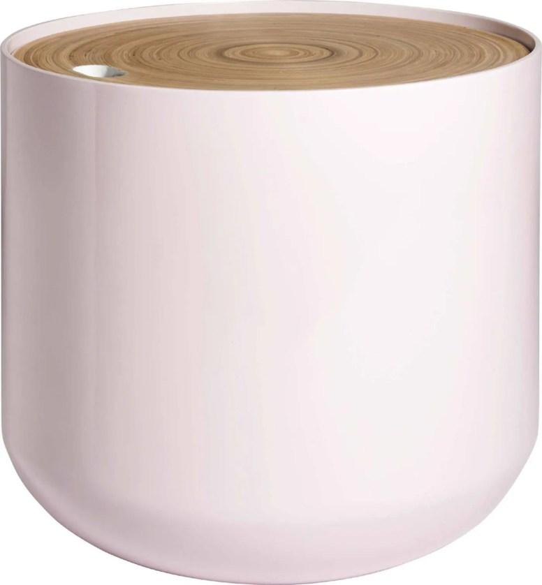 BLYTH 120,00€ +0,40€ d'éco-part Table d'appoint en bambou et MDF H.43 x D.48 cm 801280