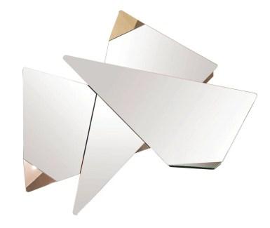 Miroir FACETTES, design Philippe Bouix, 1 390 €