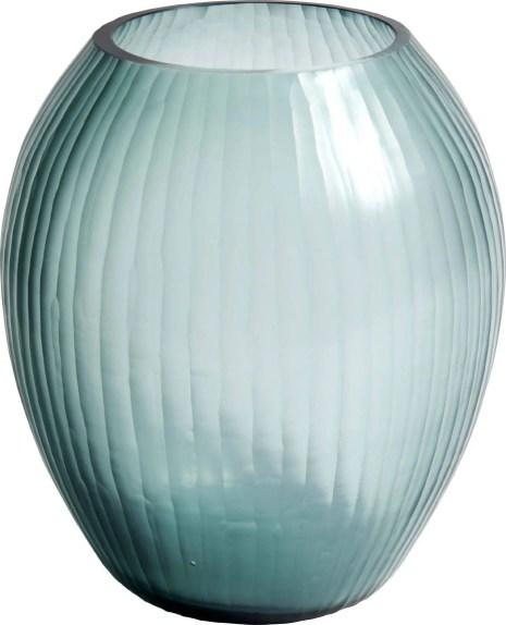 FAUVE 48,00€ Vase en verre soufflé bouche D.17 x H.20 cm 801179