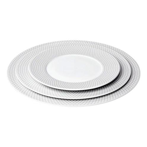 Assiettes Madison, de 50 à 85 € - porcelaine