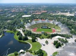 Parc olympique des JO d'été de Munich - 1972