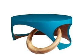 Exquisement – Table basse Dimensions : D80 x H52 cm