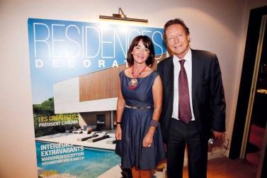 A. Jousse (Bessé Signature) et M. Comboul (Président de Résidences Décoration et Hotel & Lodge).