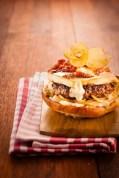 Burger-tartiflette