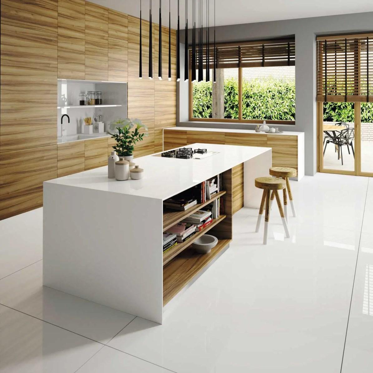 Silestone-Kitchen---Iconic-White