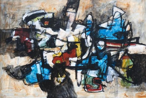 Francesco d'Adamo. Italie. The Second Chimera. 2017. Peinture