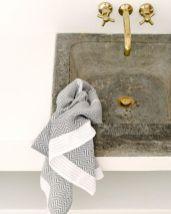 Well-Nest_Serviette de bain tissée main_ Tawulo-Grise-03
