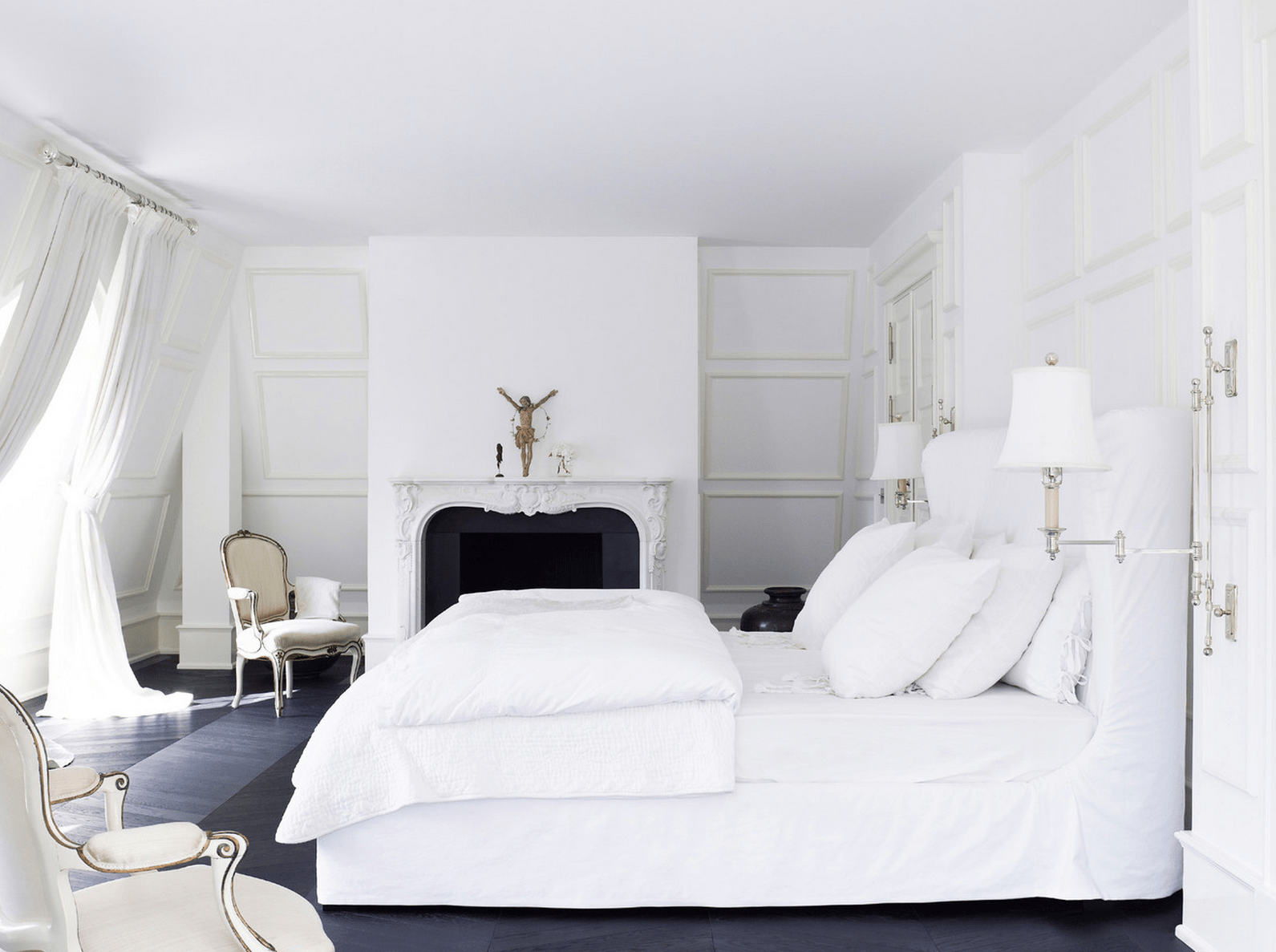 41 White Bedroom Interior Design Ideas Amp Pictures