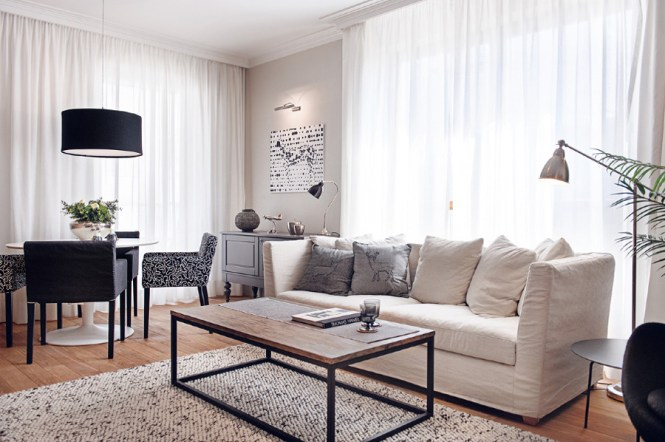 Enchanting Ideas From Black And White Living Room Decor To Redecorate Home