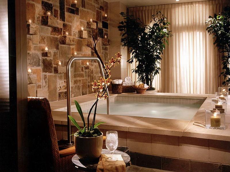 Spa Inspired Bathroom Decorating Ideas. spa inspired bathroom ...