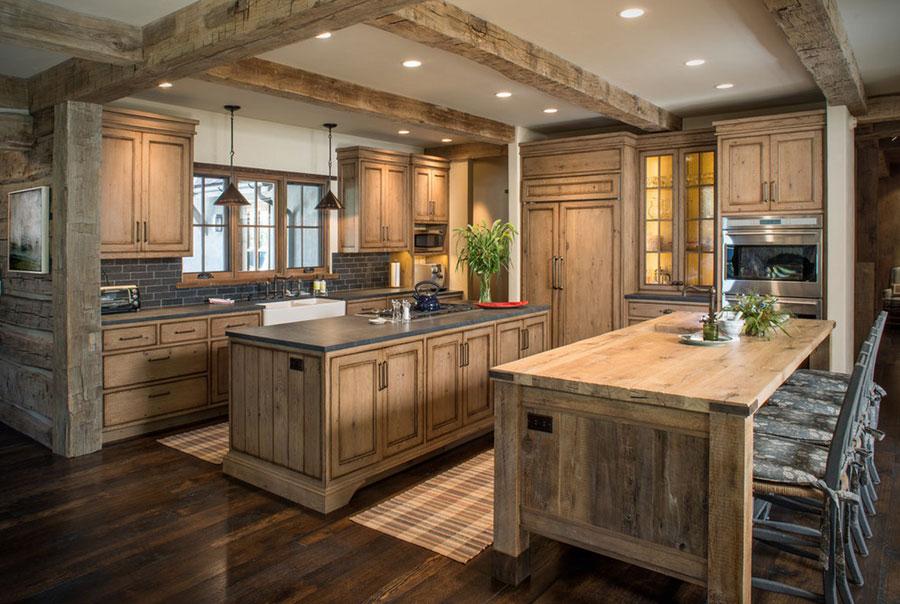 Small Kitchen Wood Design