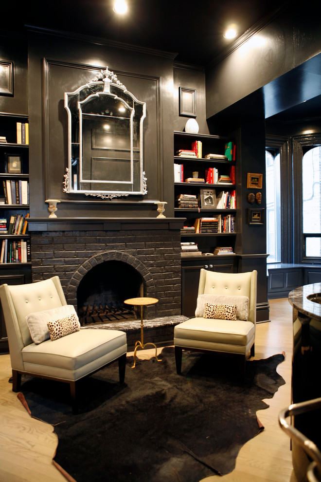 Back To Black Decorating With Dark Color Schemes