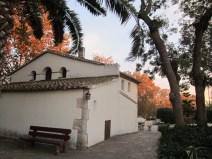 Imatge posterior de la Casa natal de Mª Ràfols