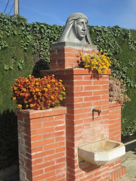 Font dels jardins de la Casa de Mª Ràfols
