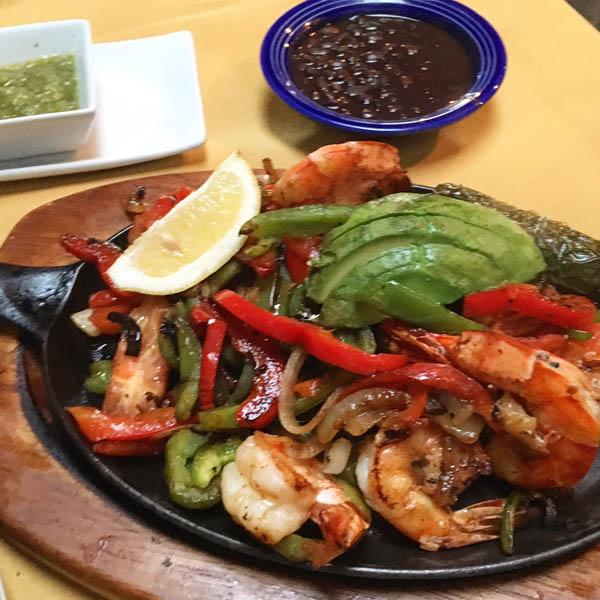 Casa Escobar (Shrimp Fajitas)
