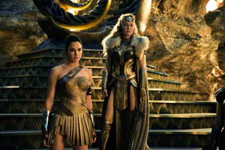 Diana and Hippolyta at Themyscira - Wonder Woman Review