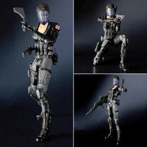 Resident Evil Operation Raccoon Lupo Play Arts Kai Action Figure 2
