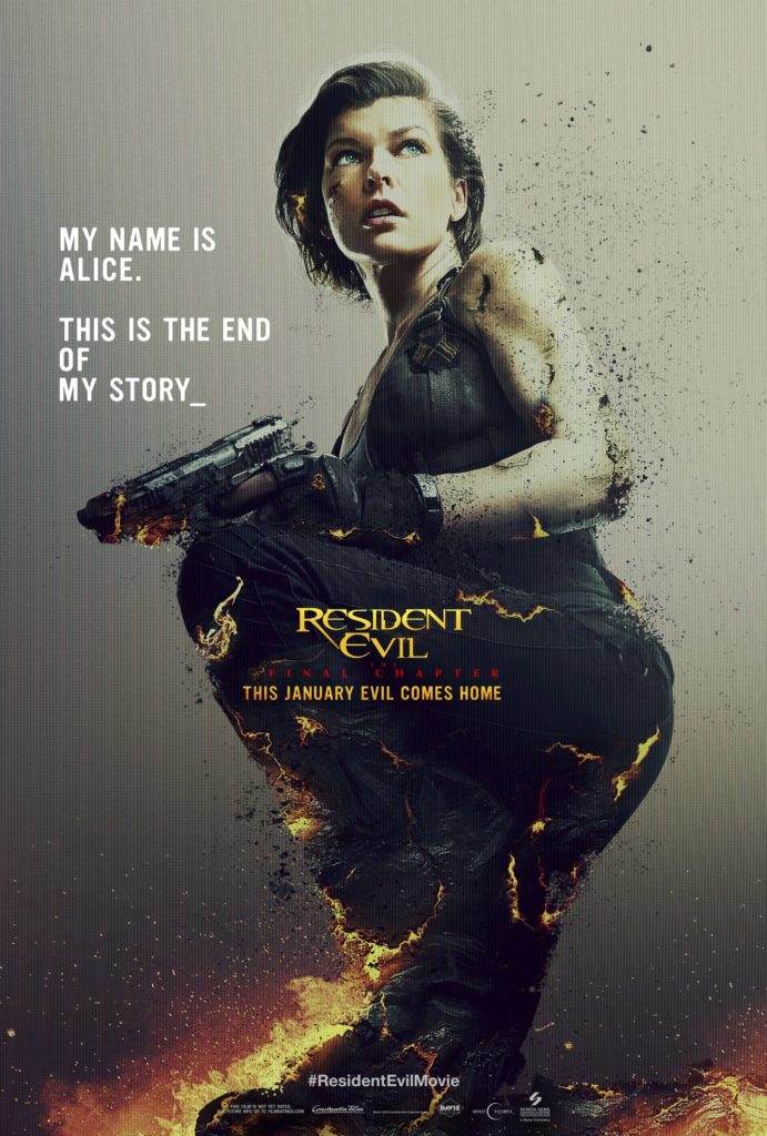 Resident Evil The Final Chapter Teaser poster Latam