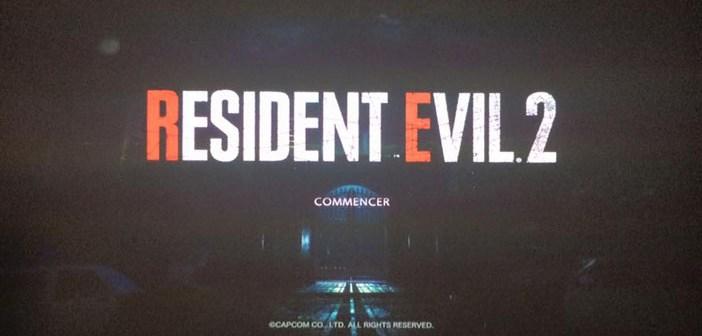TEST: Démo de Resident Evil 2 Remake