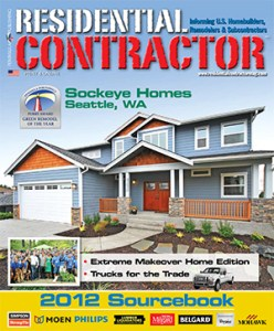 Residential Contractor Sourcebook 2012