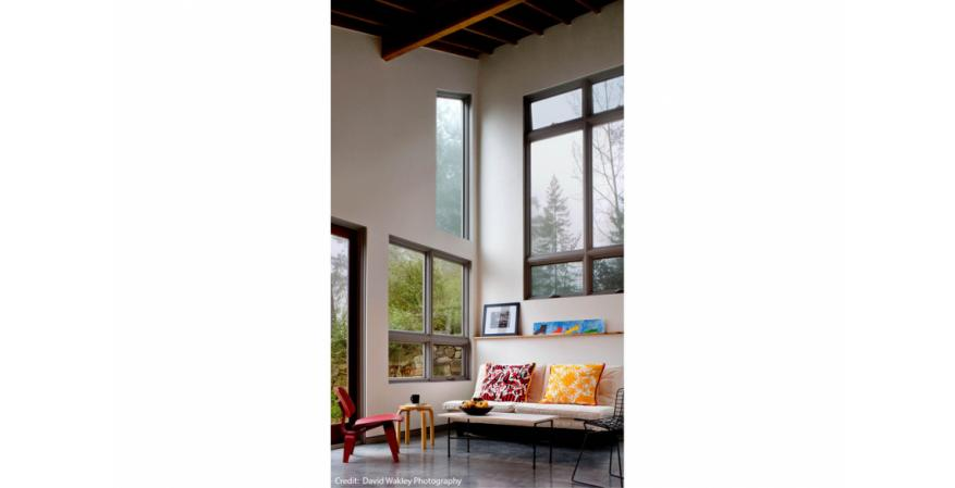 An Architect Uses Mix And Match Windows Doors To Brighten