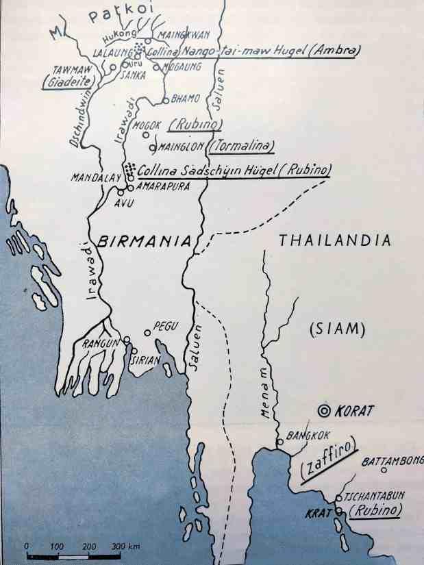 Giacimenti di rubino rubino Birmania