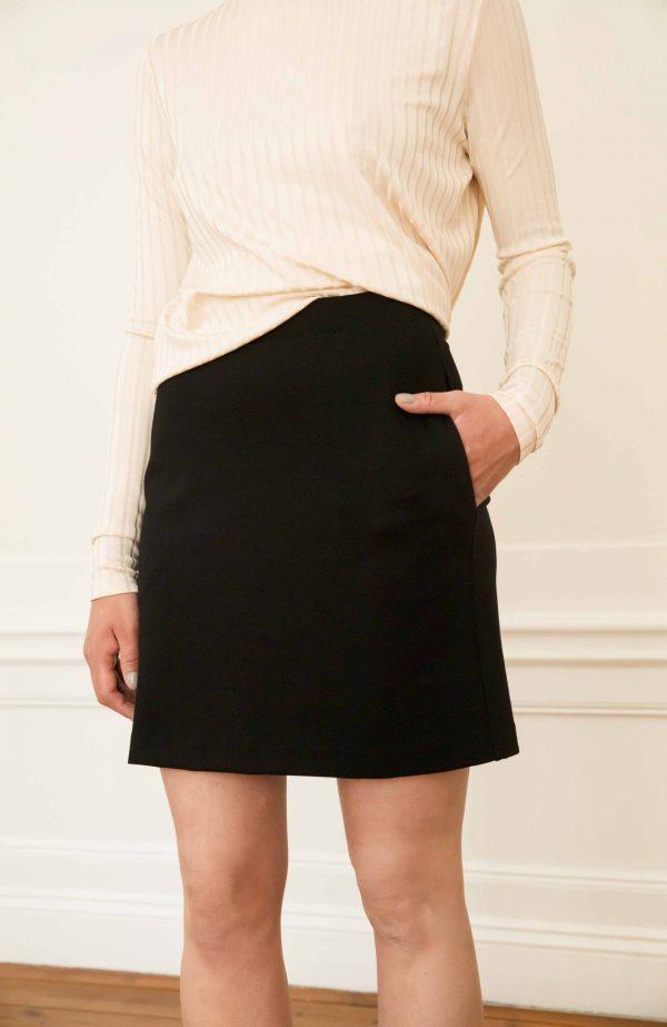 Ecovero black skirt