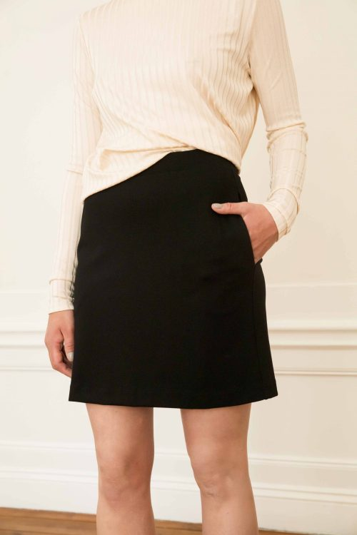 Ecovero black skirt