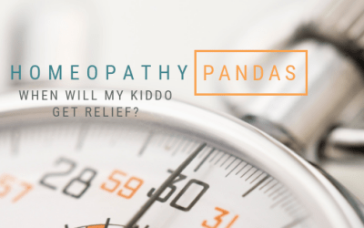 Relief is only a remedy away. Homeopathic treatment of PANDAS and PANS