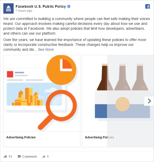 Facebook US Public Policy