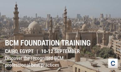 BCM FND in Cairo on 10-12 September
