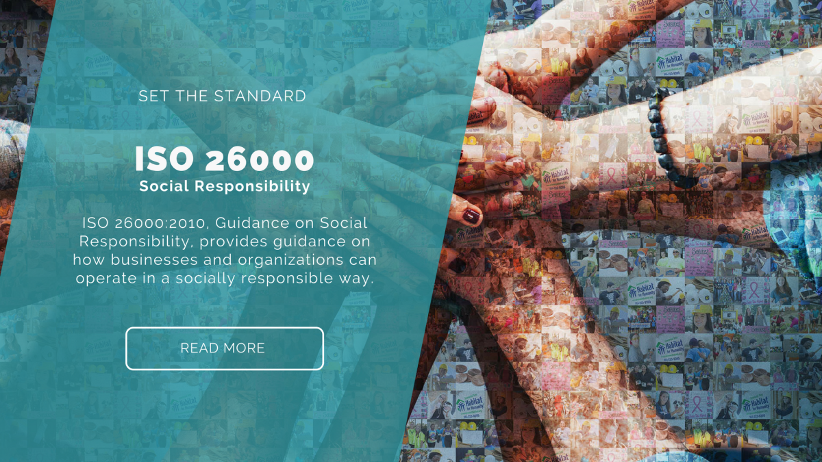 Set the Standard – ISO 26000 – Social Responsibility