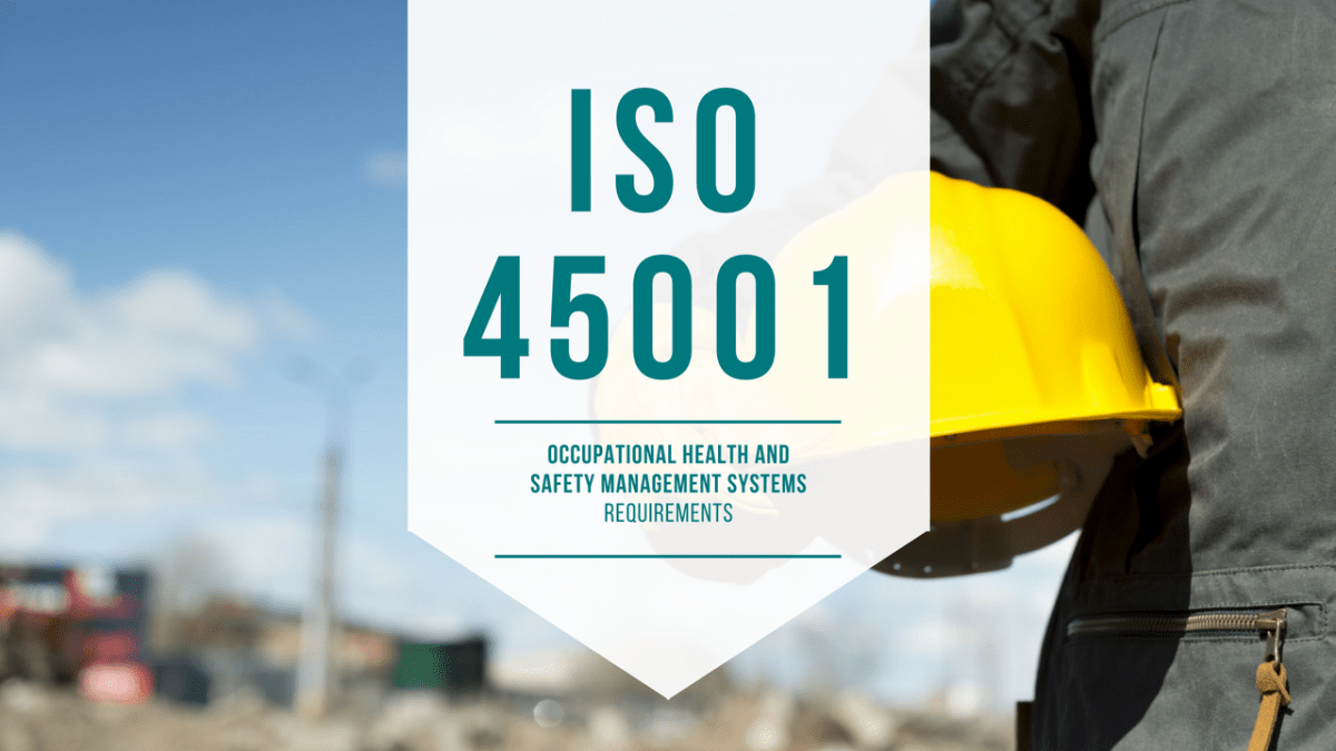 Set the Standard – ISO 45001 is now published
