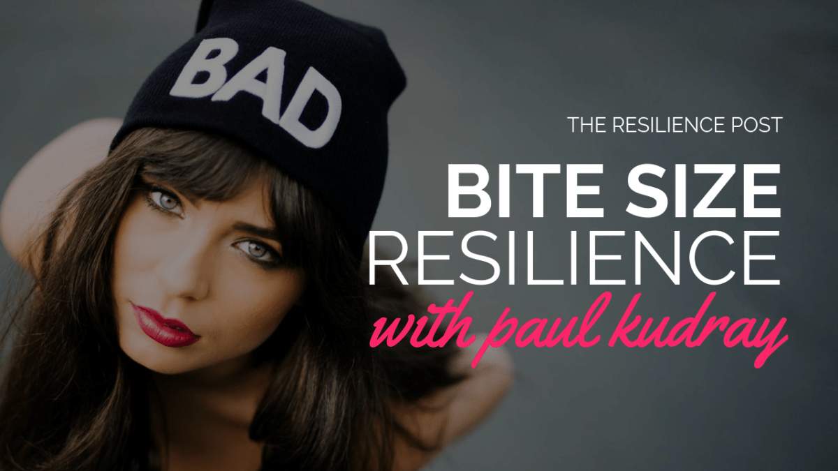 Bite size resilience - Timing