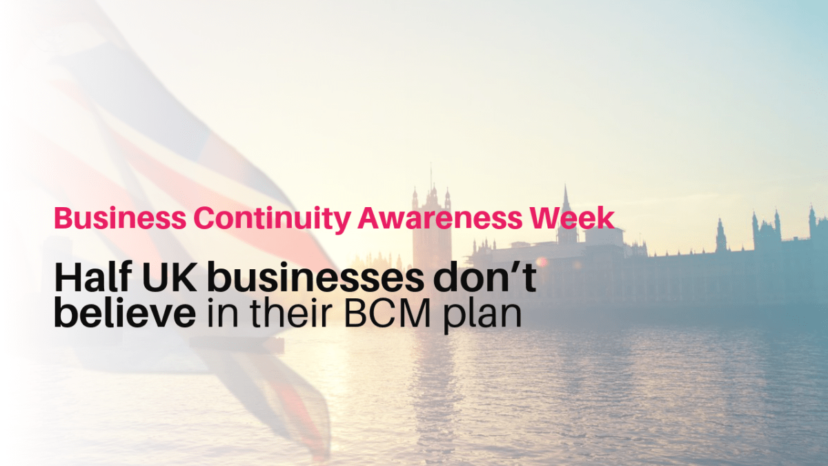 Half of UK businesses don't believe in their business continuity plan