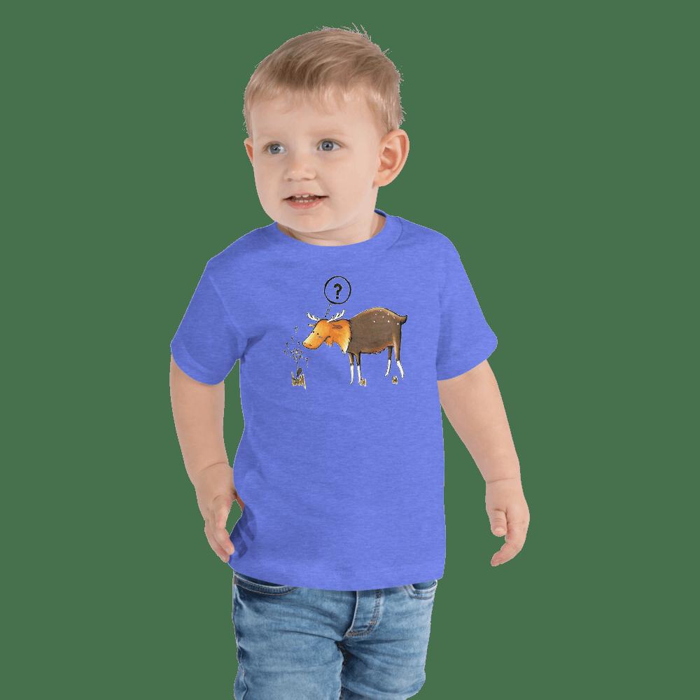 short sleeve tshirt tee toddler kids fox rain unisex